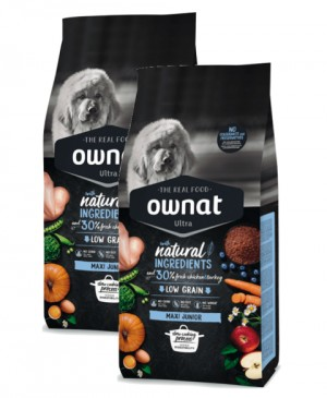 Ownat ULTRA Dog Maxi Junior (ehemals Maxima) Hundefutter
