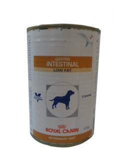 24x410g Royal Canin Gastro Intestinal Low Fat Veterinary Diet Nassfutter Dose