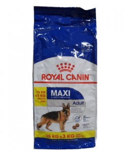 15kg + 3kg GRATIS Royal Canin MAXI Adult
