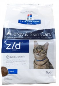 Hills PD Feline z/d Allergy & Skin Care