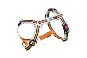 Hundegeschirr Anti-Pull PLUS Reflective Orange Größe M