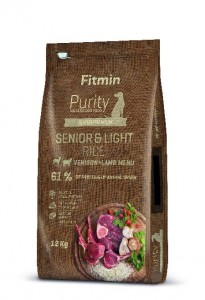 Fitmin Purity Dog Rice Senior&Light Venison&Lamb glutenfreies Hundefutter