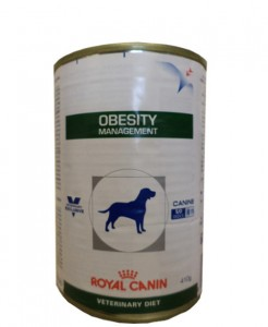 24x410g Royal Canin Obesity Management Veterinary Diet Nassfutter Dose