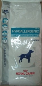 Royal Canin Hypoallergenic Moderate Calorie HME23  Veterinary Diet