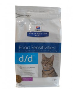 Hills Prescription d/d Food Sensitivities Diet Ente Katzenfutter