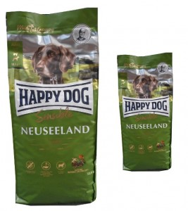 12,5kg + 4kg = 16,5kg Happy Dog Supreme Sensible Neuseeland