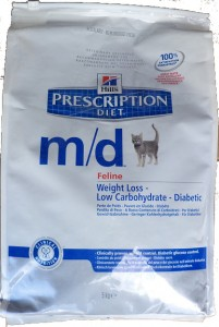 Hills PD Feline m/d Weight Loss - Diabetic
