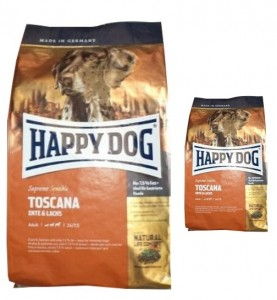 12,5kg + 4kg = 16,5kg Happy Dog Supreme Sensible Toscana