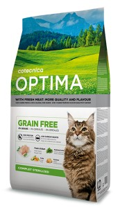 Cotecnica Optima Grain Free Cat Complet Sterilised