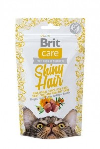 50g  Brit Care Cat Snack Shiny Hair Katzensnacks