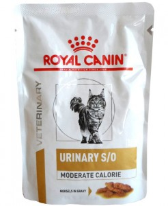 Royal Canin Urinary S/O Moderate Calorie Häppchen in Soße Frischebeutel