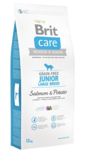 Brit Care Grain-free Junior Large Breed Salmon & Potato