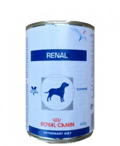 24x410g Royal Canin Renal Veterinary Diet Nassfutter Dose