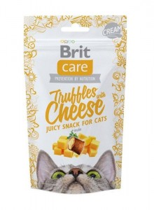 50g  Brit Care Cat Snack Truffles Cheese Katzensnacks