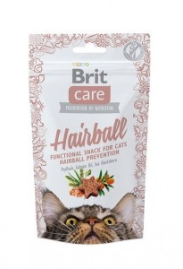 50g  Brit Care Cat Snack Hairball Katzensnacks