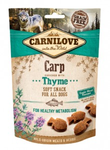 200g Carnilove Carp with Thyme Grain Free Soft Hundesnacks