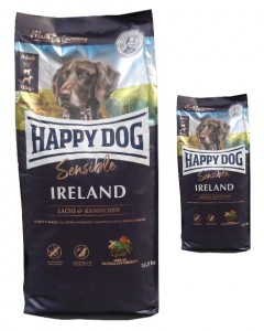 12,5kg + 4kg = 16,5kg Happy Dog Supreme Sensible Irland