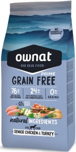 Ownat Prime Grain Free Senior Chicken & Turkey (ehemals Maxima)  Hundefutter