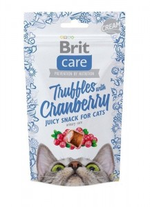 50g  Brit Care Cat Snack Truffles Cranberry Katzensnacks
