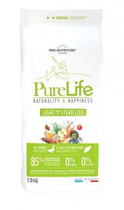 PNF PRO-NUTRITION Flatazor PURE LIFE HUND LIGHT/STERILIZED 12kg