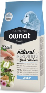 Ownat Classic Dog Junior (ehemals Optima) Hundefutter