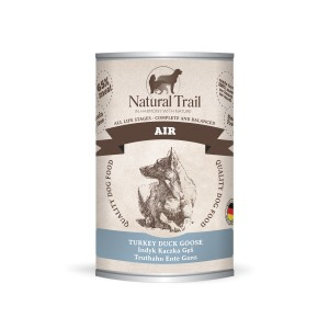 5x400g  + 400g GRATIS Natural Trail AIR Super Premium Nassfutter für Hunde Hundefutter