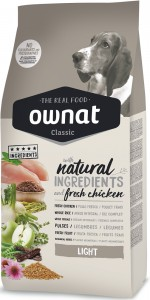 Ownat Classic Dog Light (ehemals Optima) Hundefutter